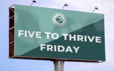 Five to Thrive Friday Launches