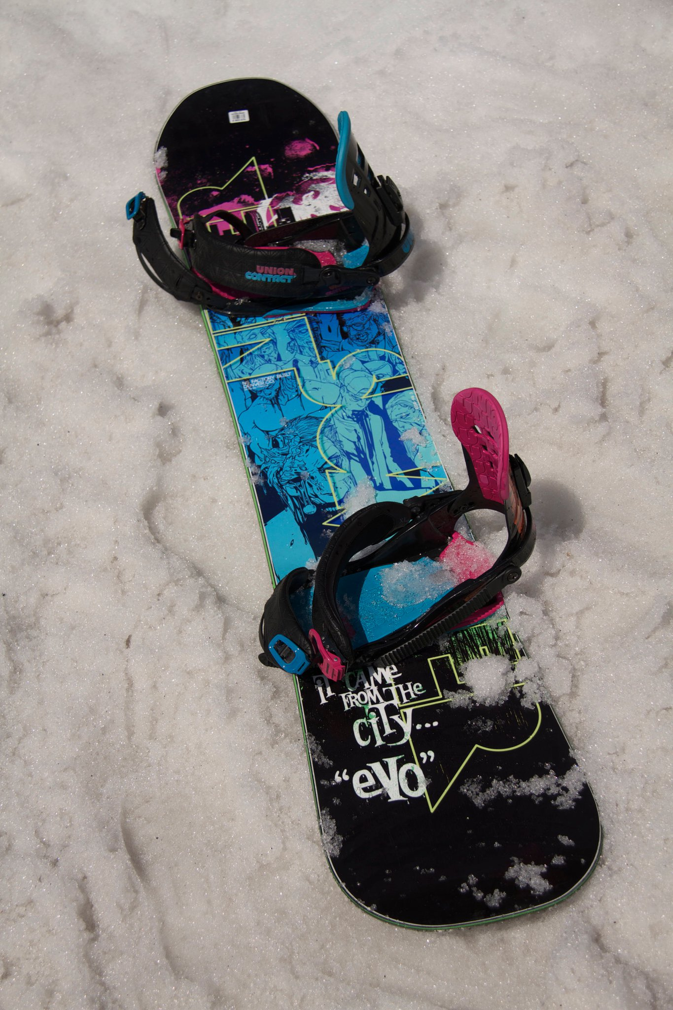 The 11/12 Never Summer Evo - board of the trip for me