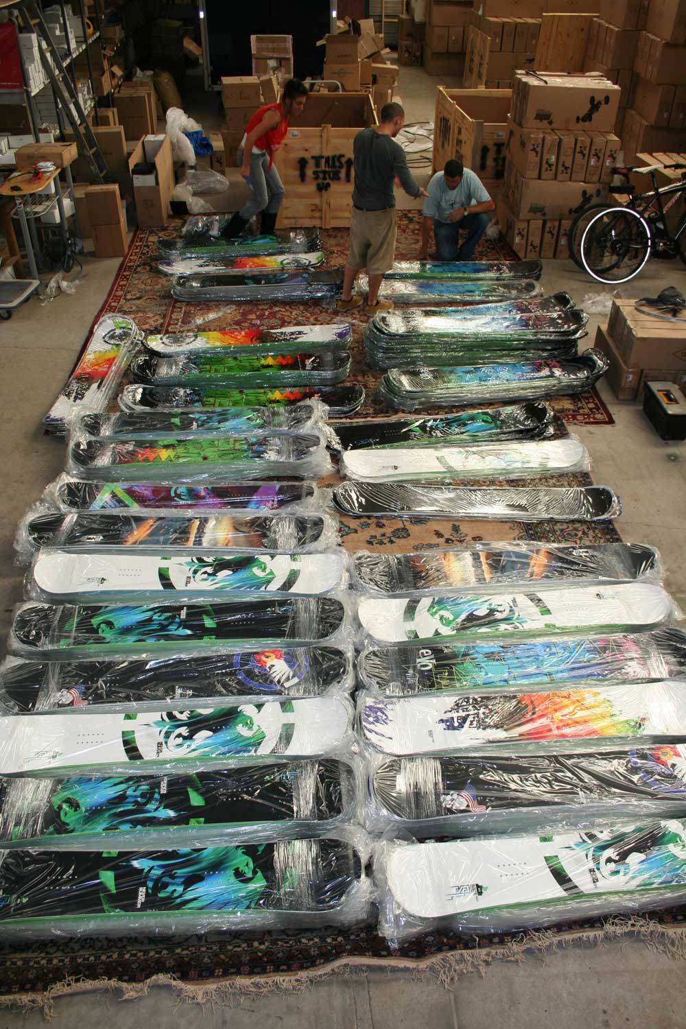 Never summer snowboards arrive