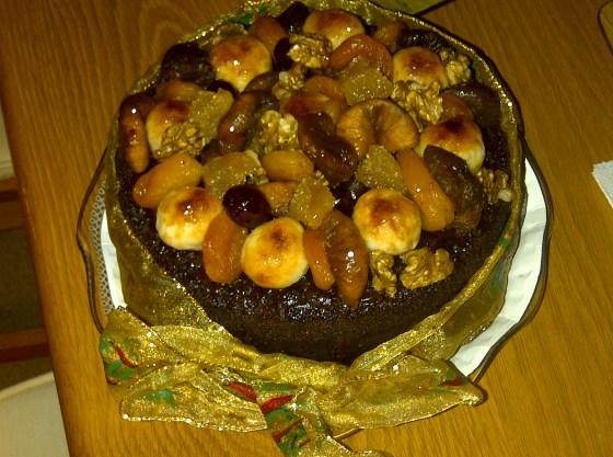 Mums Xmas Cake