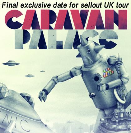 Caravan Palace Live in Bath