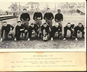 Brown's 1916 Rose Bowl team