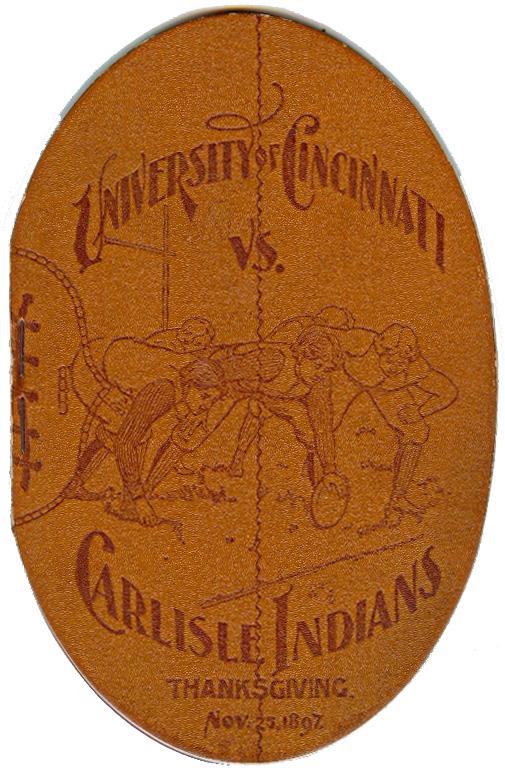 1897 Cincinnati-Carlisle program