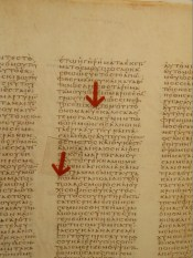 800 Leaves of fine parchment, and yet the Vatican Codex doesn't use God's personal name even once!