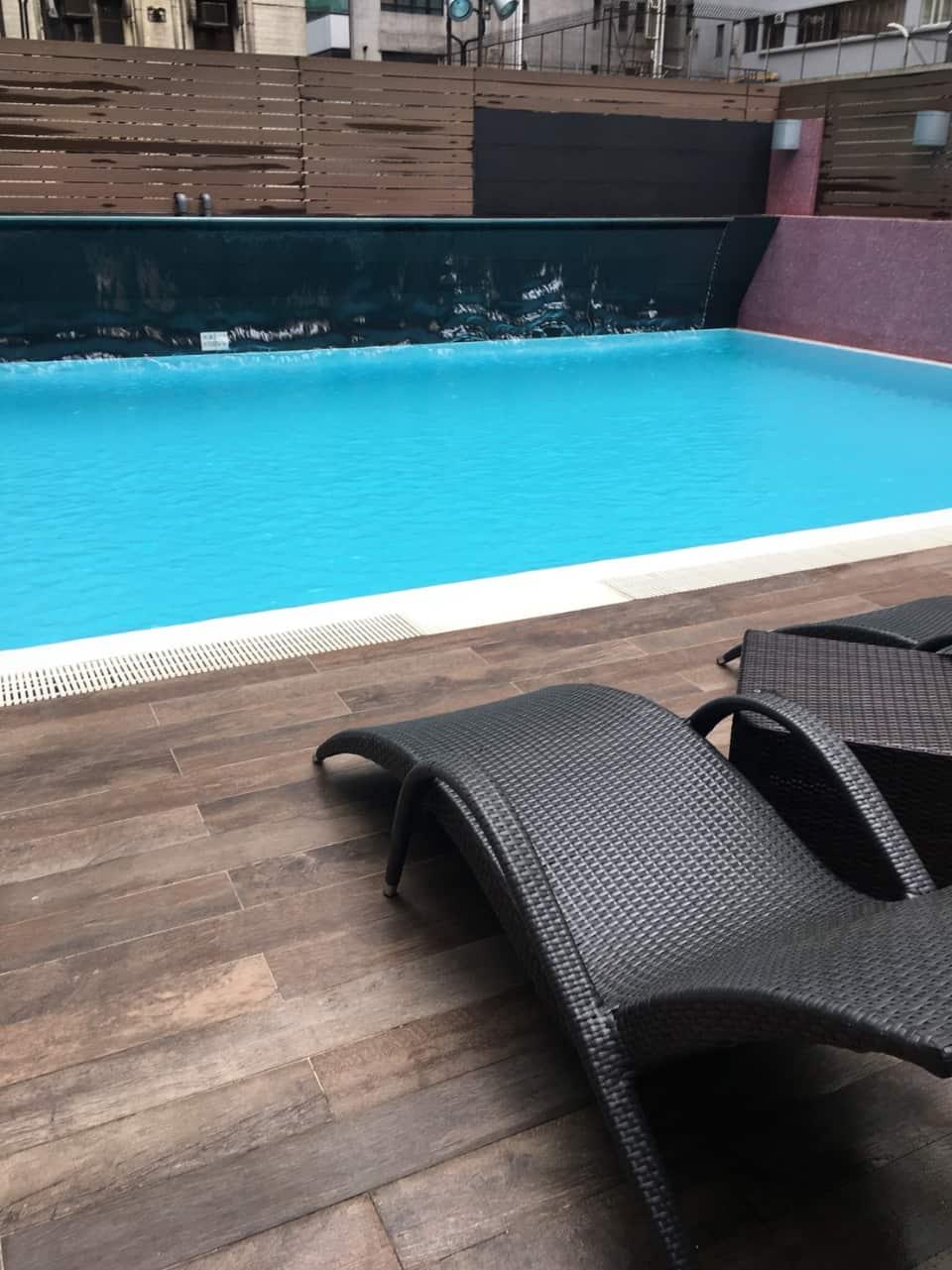 香港 ホテル プール