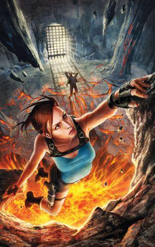 Lara Croft and the Frozen Omen #5