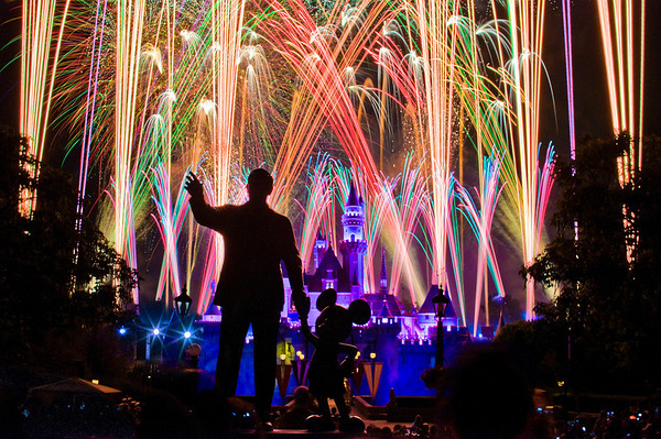 Disneyland's summer fireworks presentation,