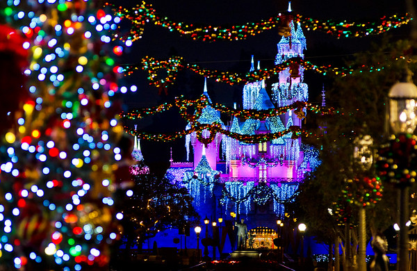 disneyland park is perhaps the most heavily decorated of all the us disney theme parks main street is unquestionably the most decorated of the lands - When Is Disney Decorated For Christmas