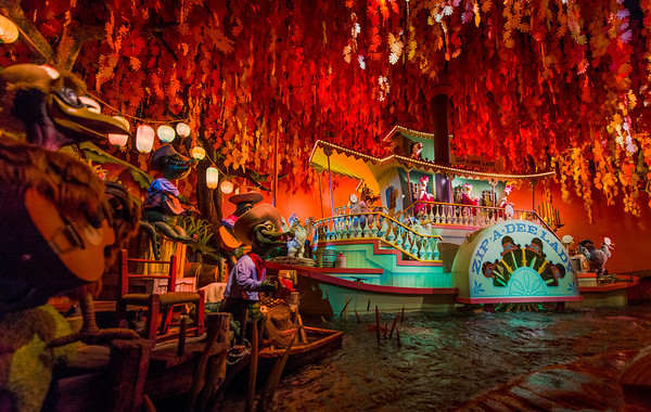 Disneyland Inside Splash Mountain