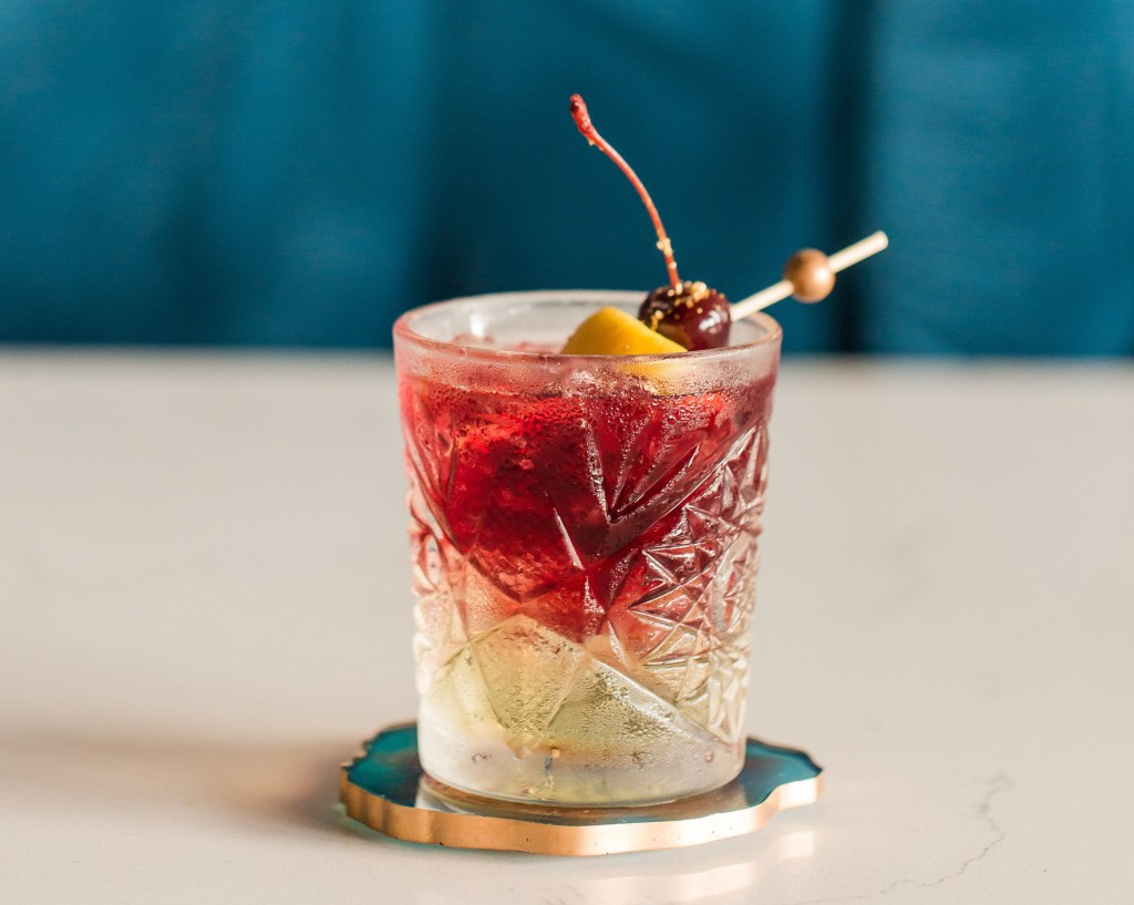 Handcrafted signautre cocktail