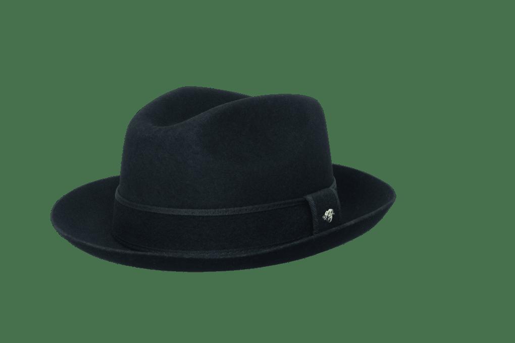 Sombrero banquera 20 estrellas negro