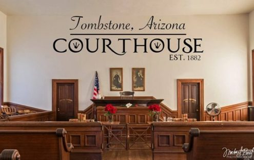 courtroom   Tombstone Chamber of Commerce courtroom