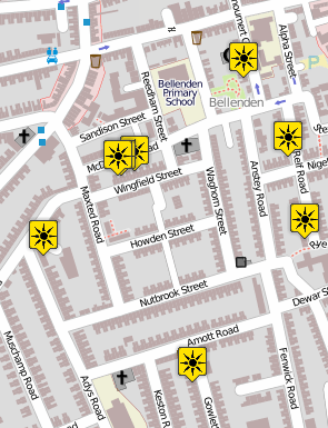 Low carbon power in OpenStreetMap