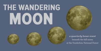 Wandering Moon reading flyer