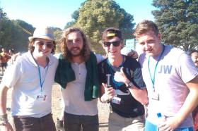 Us lot, and Shaunn Walsh! Latitude 2013