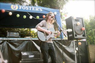 Performing a few songs for Folk Week in Broadstairs!