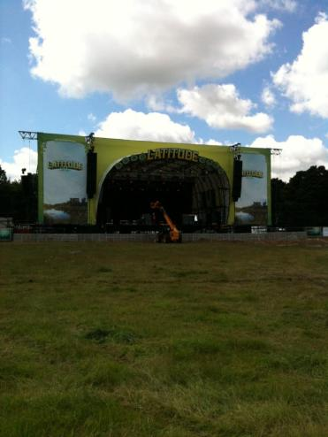 The Main Stage, untouched! Latitude 2012.