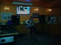 Playing at Cramptons.