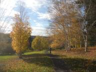 berta-on-path-at-cornell-plantations-10-24-15