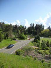 Cornell Botanic Garden drive... Comstock Rd.