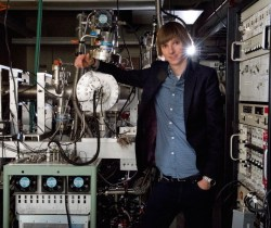Taylor Wilson with his nuclear reactor that he built by age 14