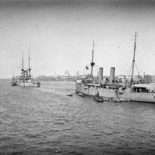Tom Crean was aboard HMS Fox in 1919