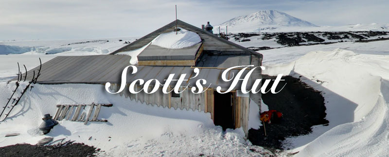 Scott's Hut Antarctica
