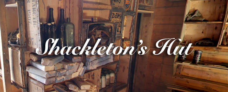 Shackleton's Hut Antarctica