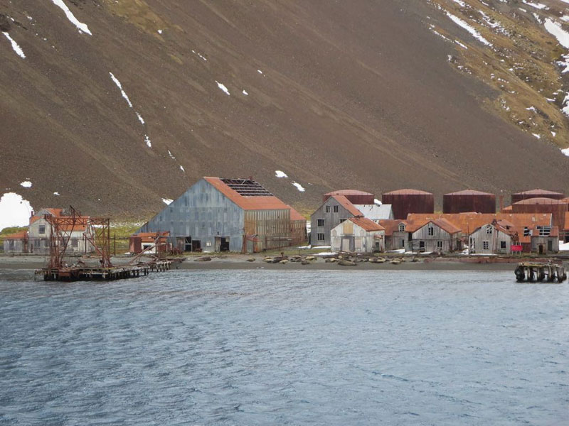 Shackleton Stromness Whaling Station