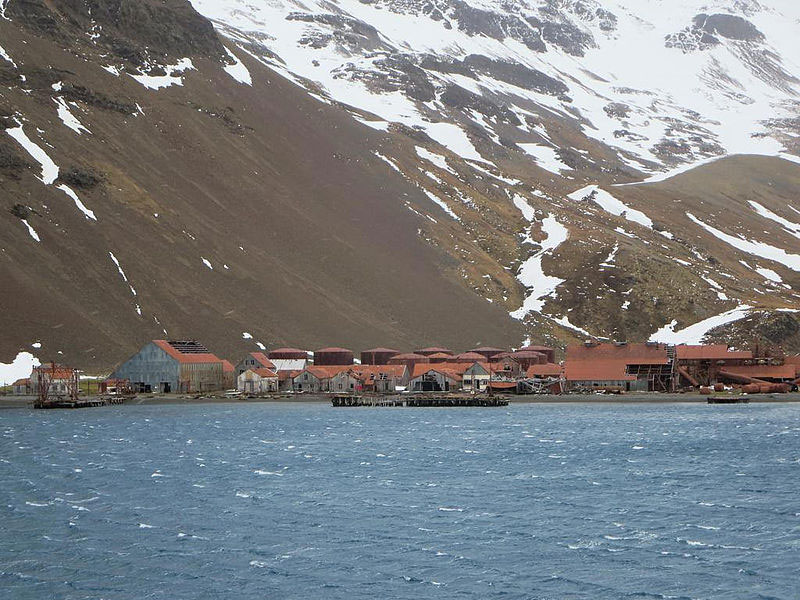 Stromness Whaling Station - Shackleton