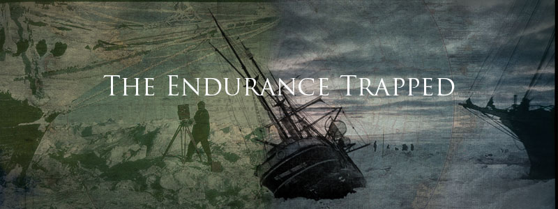 The Endurance Trapped