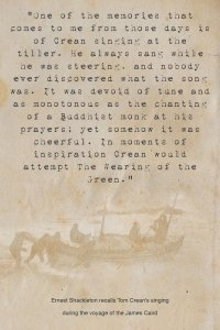 Tom Crean Quotes - Ernest Shackleton