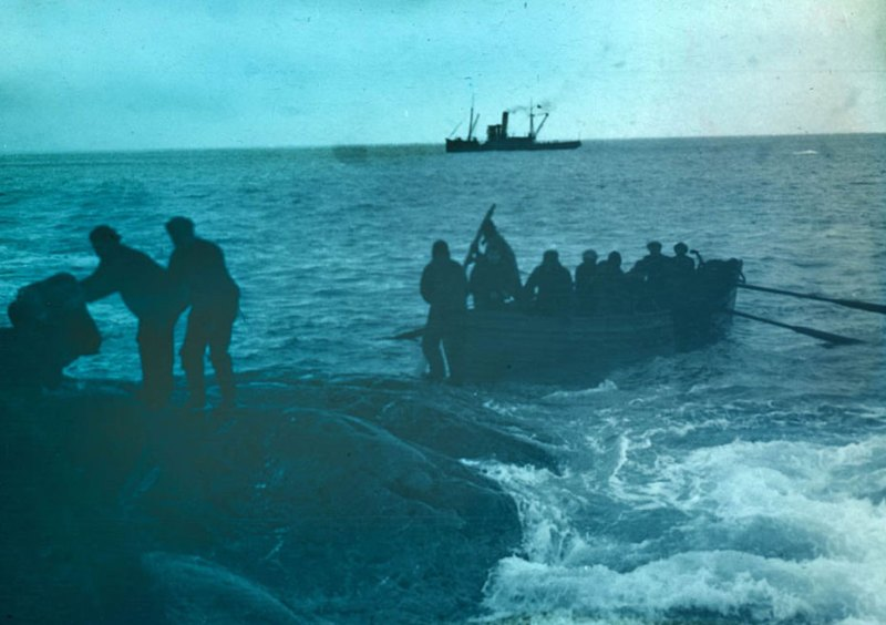 The Rescue from Elephant Island, August 30th 1916.