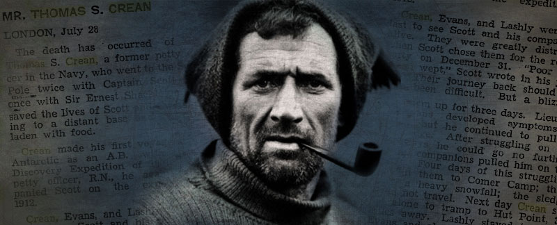 Tom Crean - The Imperial Trans-Antarctic Expedition