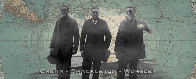 Crean-shackleton-worsley after arriving in Stromness
