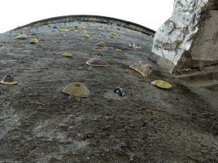 Luftschutzturm als Kletterturm