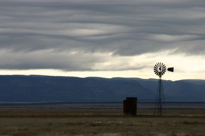 Windmill, West Texas