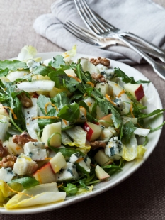 Barefoot Contessa - Recipes - Endive, Orange & Roquefort Salad