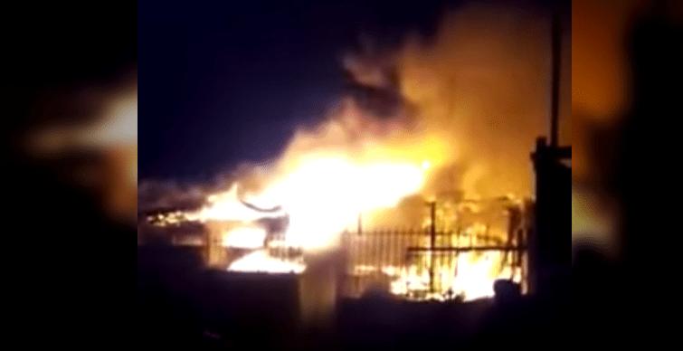 incendio en heredia casas quemadas