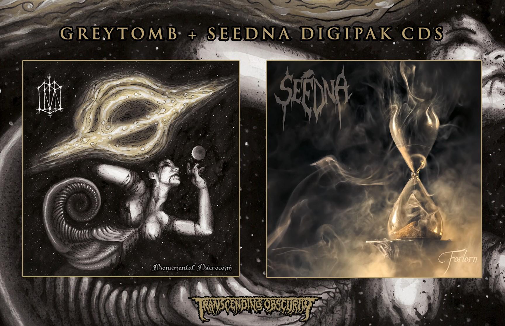 Greytomb (Australia) + Seedna (Sweden) - Atmospheric Black Metal Combo!