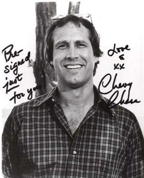 TomFolio com   Author Signature  Chevy Chase Chevy Chase  Sample Autograph Signature  Chevy Chase signature
