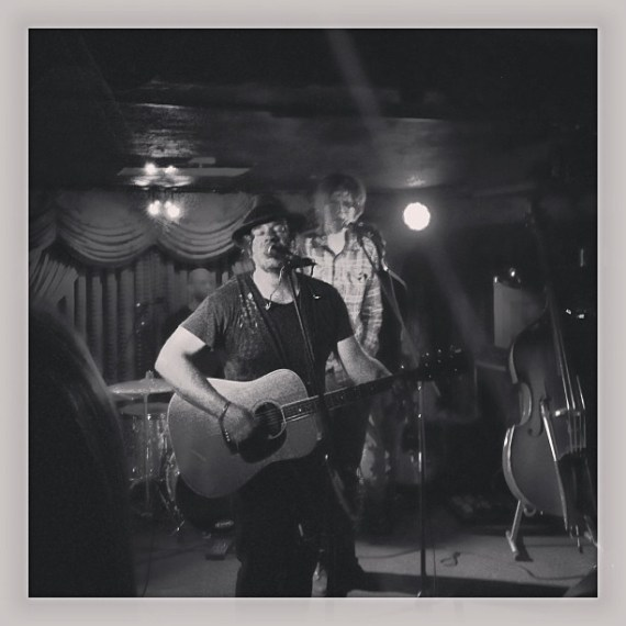 Fun night at the #delmontespeakeasy #brettdennen #tomfreund