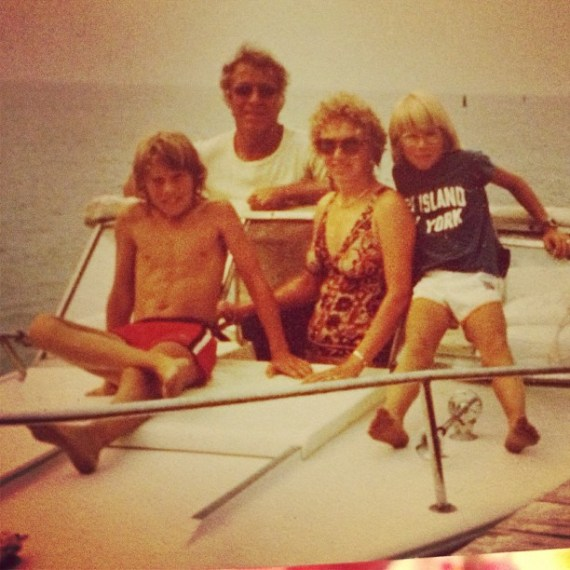 That's me on the right #fireisland summers. Heading to #santabarbara on sat to play show with #jasonisbell @Marjorie Luke theatre