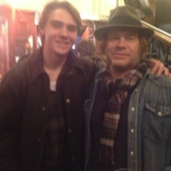 Stort møte med Tom Freund på Angus Stone konsert i februar! #Tomfreund #London #February #musicalgenious @tomfreund