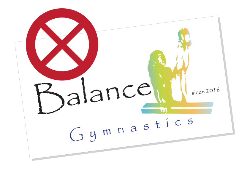 example of a bad gym logo design