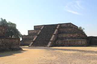 Smaller pyramid along Avenue of the Dead