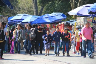 Small mercado near the museum