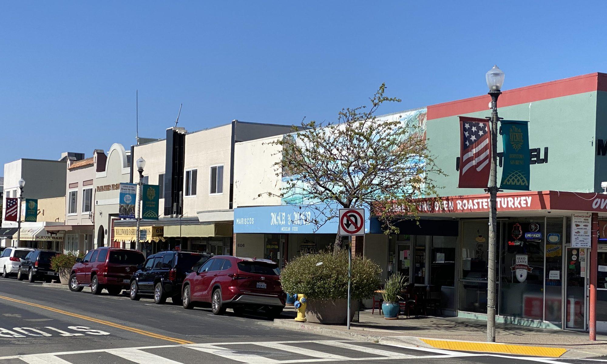 Downtown San Bruno