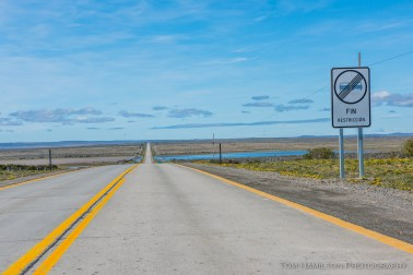 Few restrictions on the wide open Patagonian roads.