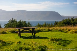 The prettiest picnic table in all of Canada...